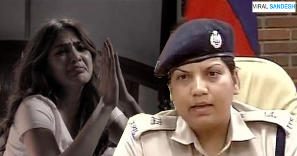 question of CBI caused Riya to get rid of sweat and shout at the officer