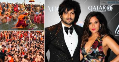 Ali Fazal girlfriend Richa Chadha said about kumbh