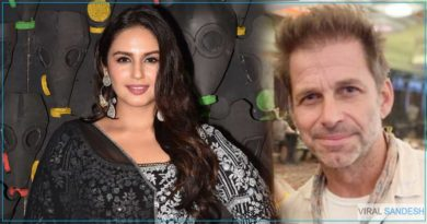 Huma Qureshi with Hollywood director Jack Snyder