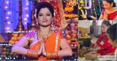 Ankita Lokhande Worship at Home