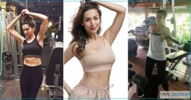 Fitness of Bollywood Actress