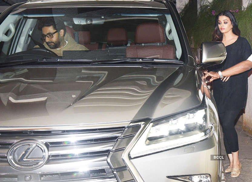 Aishwarya Rai Luxury Imported Car