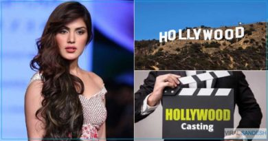 Rhea chakrborty going to Hollywood