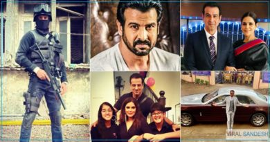 Ronit Roy Struggle and security service